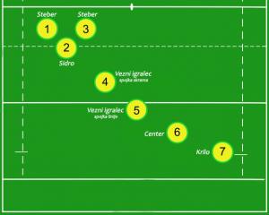 Rugby VII pozicije